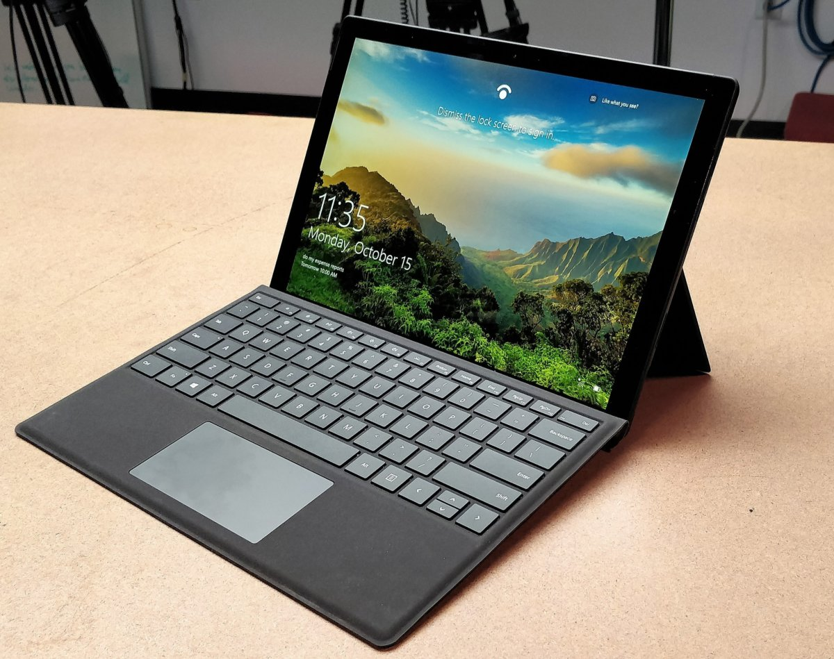 Microsoft Surface Pro 6 User-based Outlook