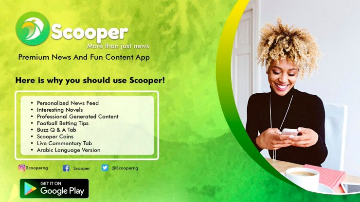 Scooper News | Download the App to Get Free Airtime/Data » jmexclusives