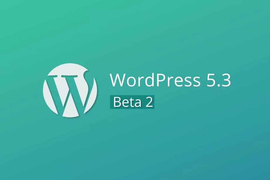 WordPress 5.3 Update