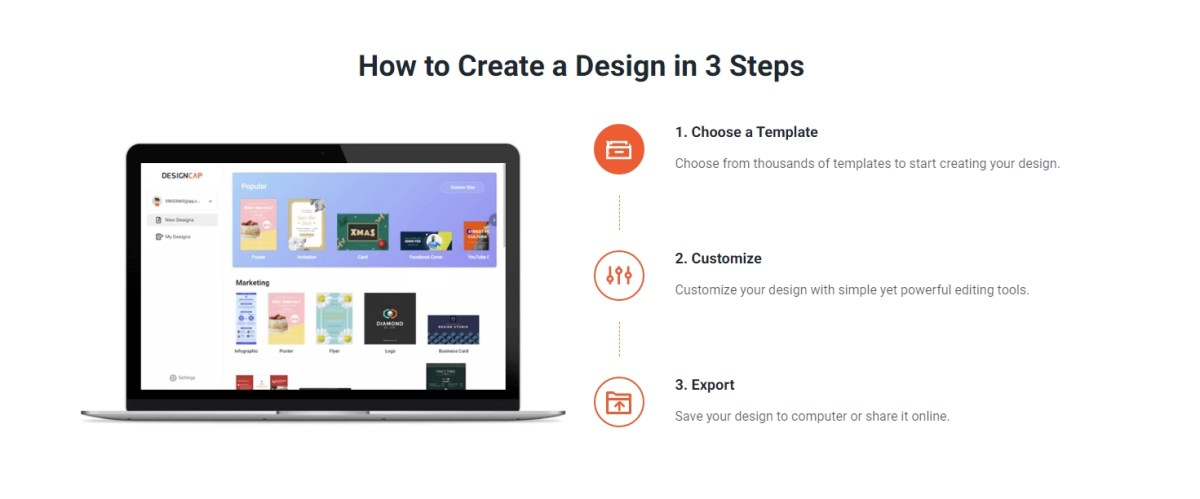 How to Create a Design in 3 Steps