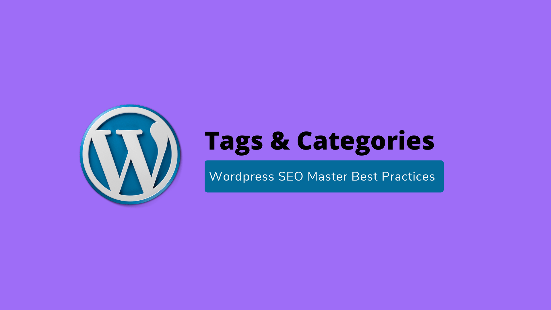 Tags & Categories | WordPress SEO Master Best Practices