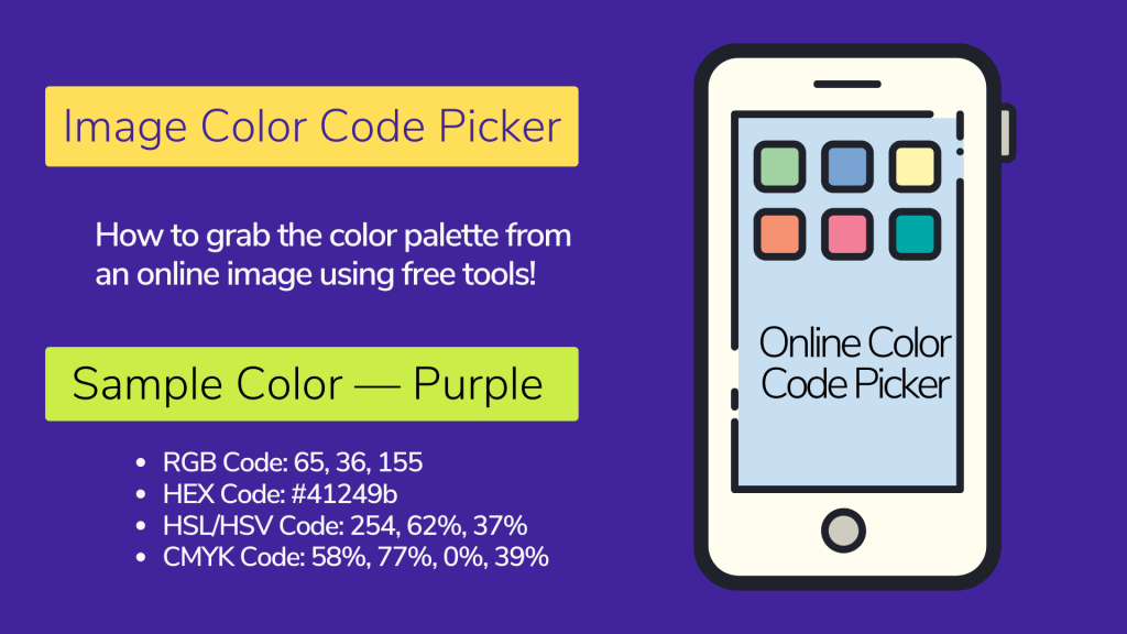 Image Color Code Picker | 15 Free Tools & Web Extensions