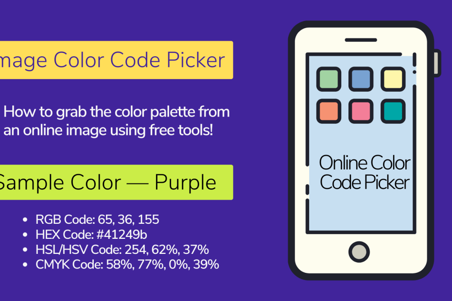 What is an Image Color Code Picker?