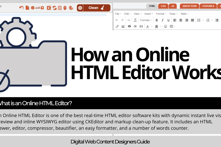 What is an Online HTML Editor?