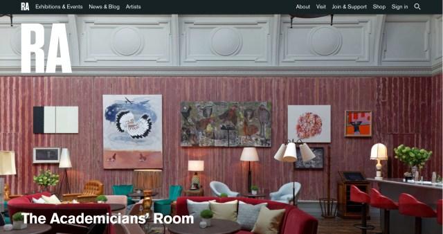 RA - The Academicians' Room