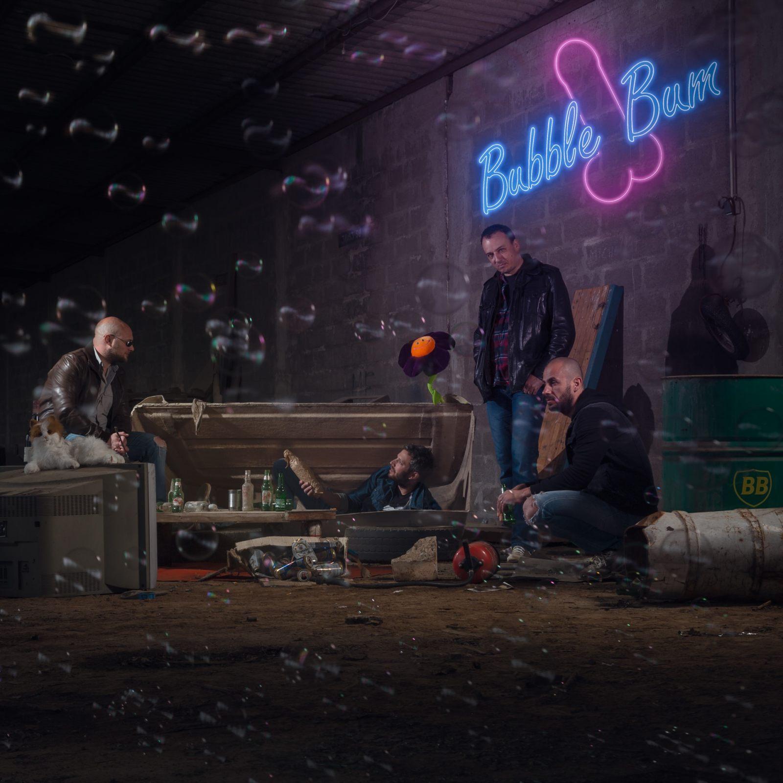 Artwork d'album pour le le groupe Bubble Bum
