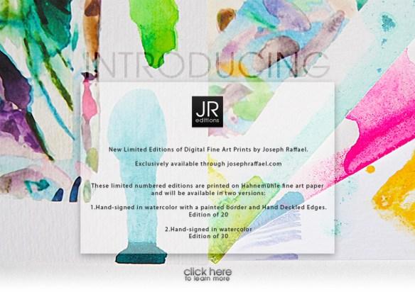 Digital Pigment Prints by Joseph Raffael
