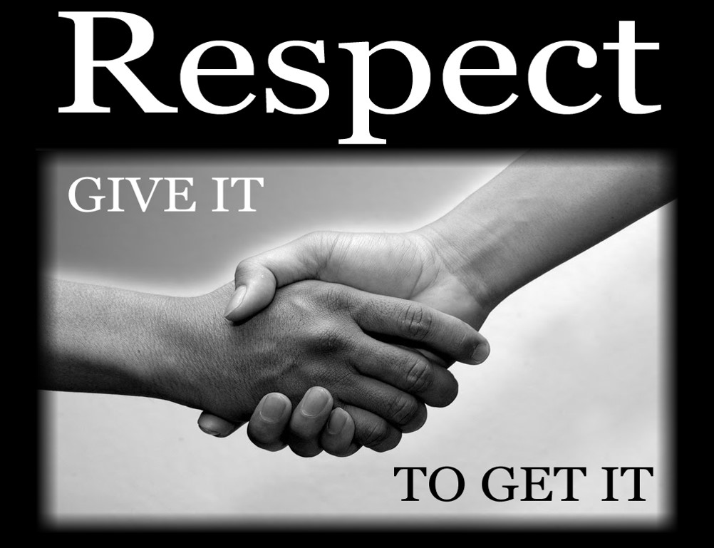 Image result for Images for respect-