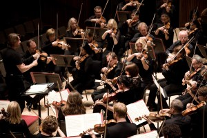 The Philharmonia in action