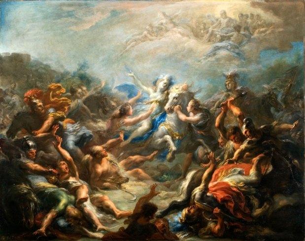Giacomo del Po. Camillia at War