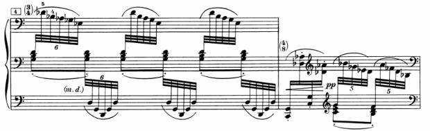Ex. 1: Interruption in bar 5