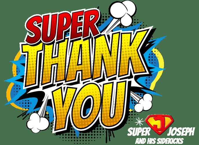 Super thanks from Super Joe
