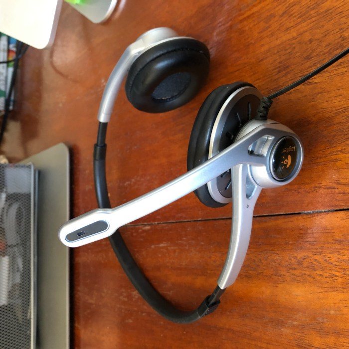 Old Logitech Wired Headset