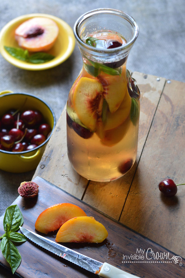 Cherry-Peach-Sangria