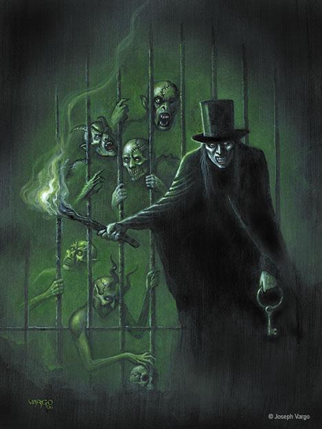 Nightstalkers Gothic Fantasy Artwork by Joseph Vargo