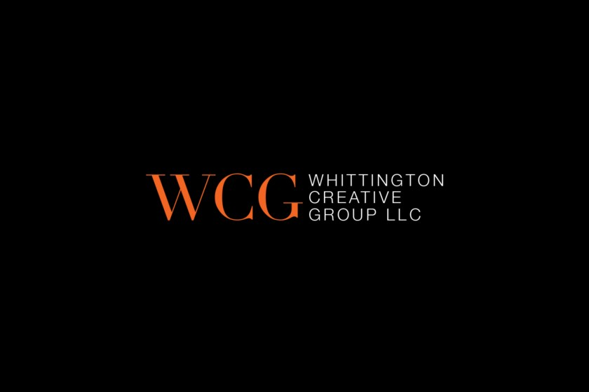 Whittington Creative Group Business Card Black Logo