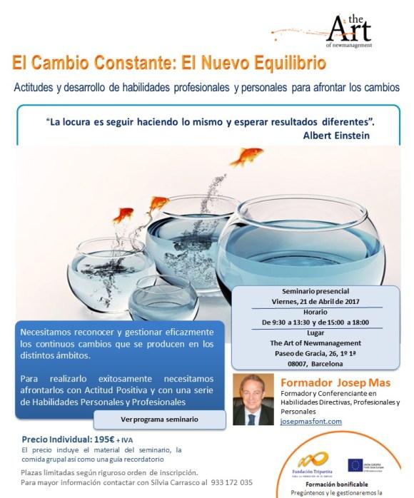 El CAMBIO CONSTANTE 2017