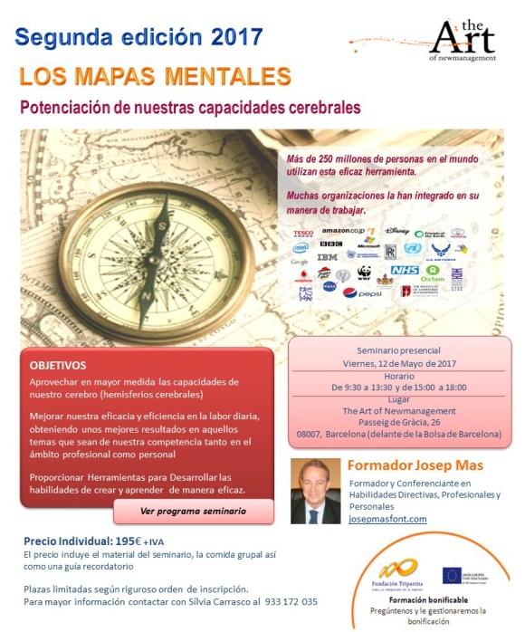 2a edició MAPAS MENTALES 2017