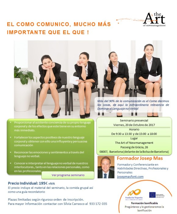 EL COMO COMUNICO 2017