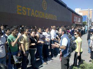 Capacitación de personas en la calle para saber enfrentar contingencias en situaciones de emergencia.