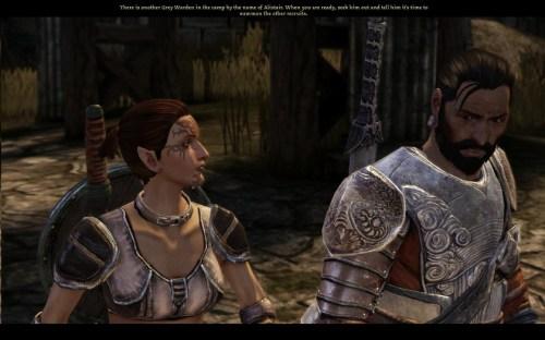 Miriyam y Duncan con rumbo a la batalla