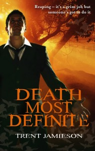 Portada del libro Death Most Definite