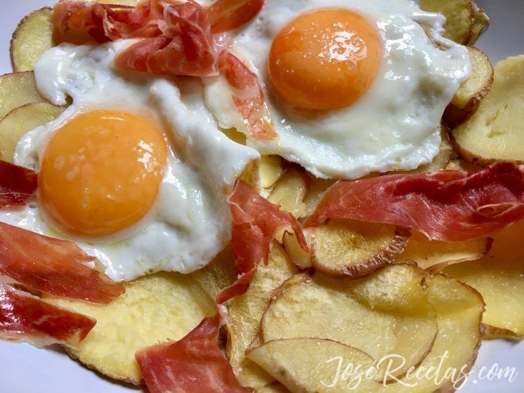 huevos estrellados
