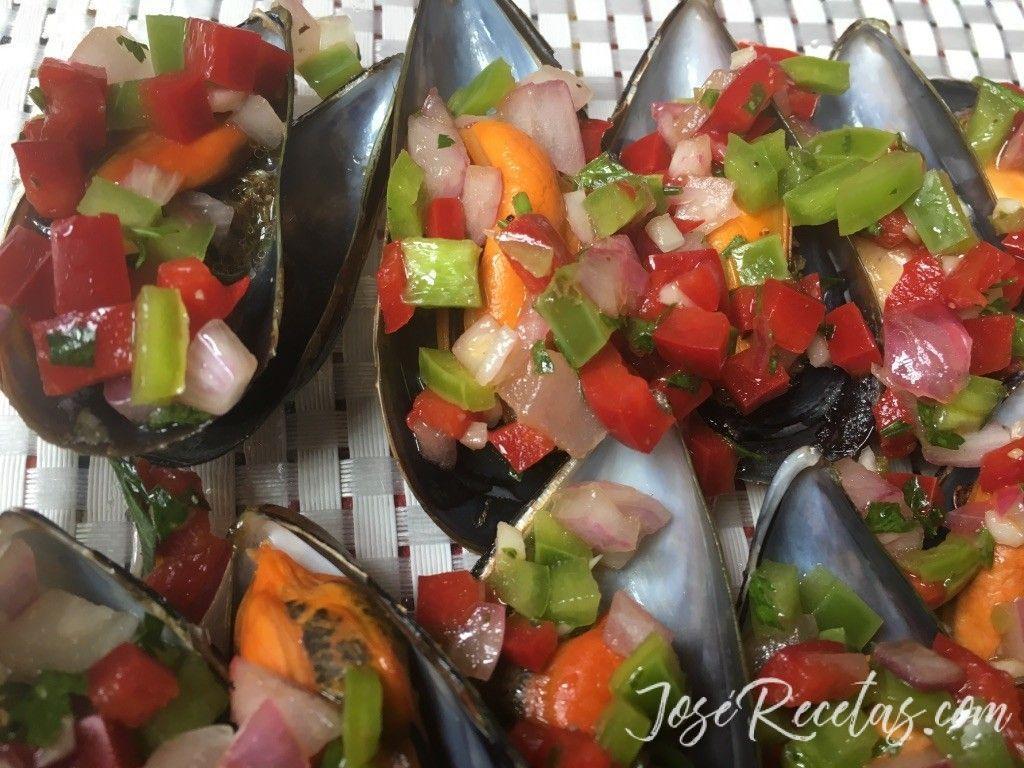 Mejillones al vapor con vinagreta irresistible plato fr o - Mejillones al vapor con vinagreta ...