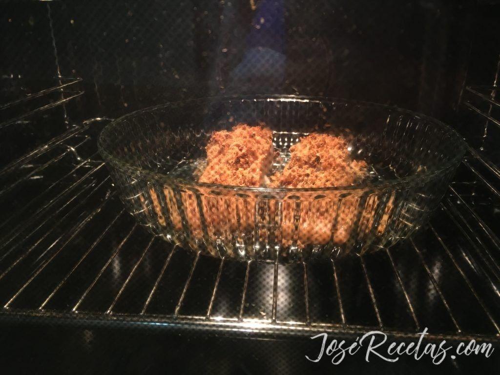 salmón en el horno