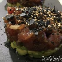 Tartar de atún rojo con aguacate, la receta del mejor tartar