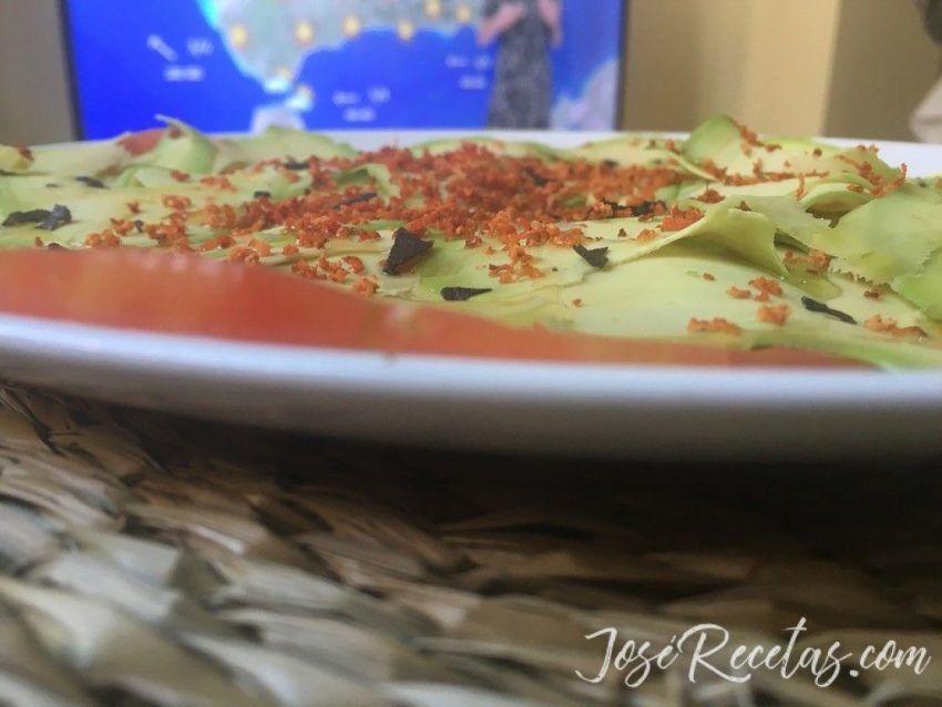 carpaccio vegetal