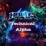 Olemos el Heroes of the Storm Tech Alpha