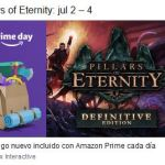 Pillars of Eternity gratis con Twitch Prime