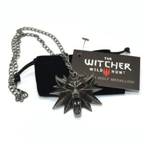 Colgante cabeza de Lobo - The Witcher