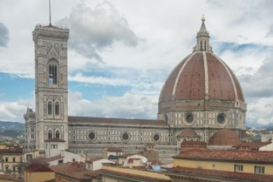 Tuscany - Florence. The Duomo.