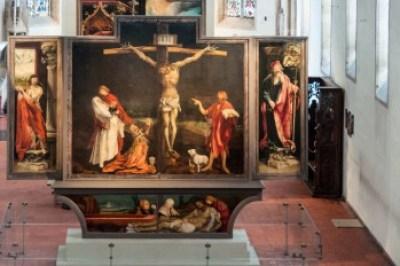 Alsace - Colmar Insenheim Altarpiece.