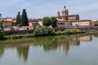 Tuscany - Florence. Oltrarno San Frediano Church.