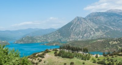 Greece - Pindus - Lake Mormos