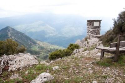 Greece - Pindus. Ridge view.