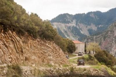 Greece - Pindus. Agrafa village.