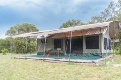 Kenya -Ol Pejeta, Tent