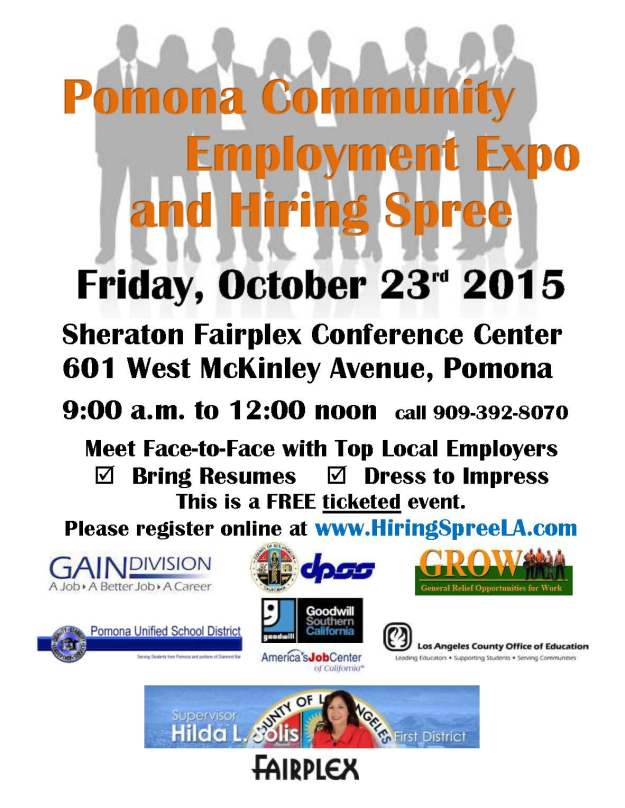 Employment Expo Fall 2015