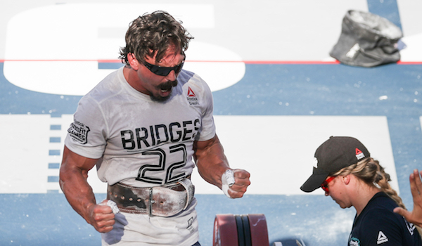 Josh Bridges CrossFit Games