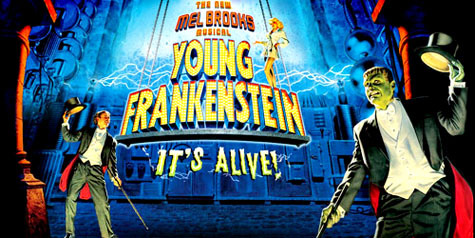 Image result for young frankenstein musical cast