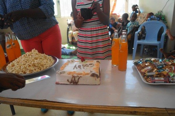 The food for the ceremony