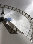 The Coca-Cola London Eye (yay corporate sponsors). To give an idea of the scale, each of the cars holds about 20 people.