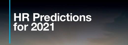 HR Predictions 2021