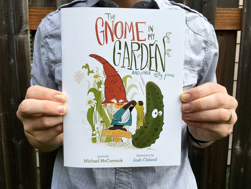 Gnome In My Garden Book Illustrations