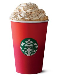 A typical godless Xmas cup