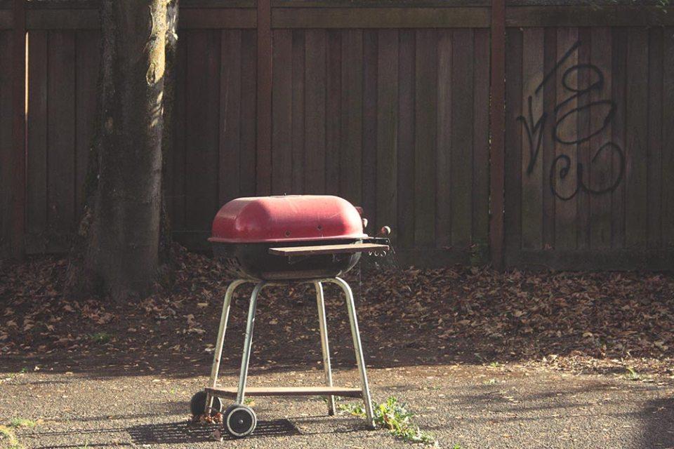 Public grill.